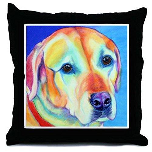 CafePress - Yellow Lab - Throw Pillow, Decorative Accent Pillow