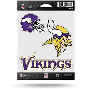 NFL Minnesota Vikings Die Cut 3-...