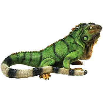 Michael Carr Designs 80059 Iguana Outdoor Statue, Medium