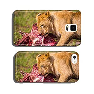 Feeding Lion cell phone cover case iPhone6 Plus