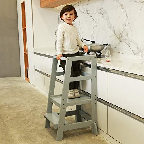 SDADI Kids Step Stools Kitchen Standing Tower