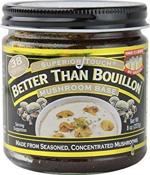 Better Than Bouillon Mushroom Base -- 8 oz - 2 pc