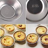 eZAKKA Egg Tart Mold Puto Molds Tin Pans Aluminum