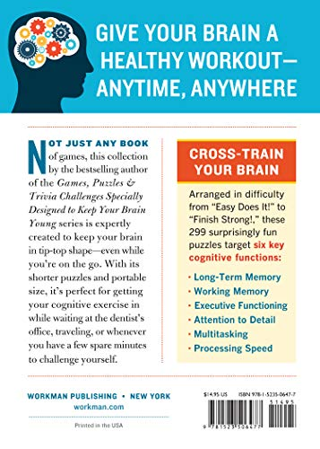 51RQccoMNPL - 299 On-the-Go Games & Puzzles to Keep Your Brain Young: Minutes a Day to Mental Fitness