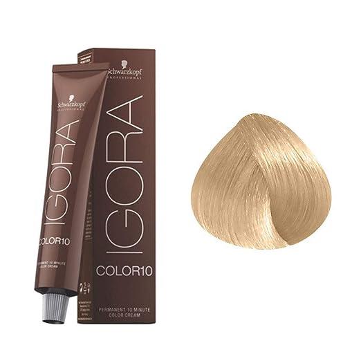 Igora Color10 Coloración Permanente en Crema para el Cabello 9-0 - 60 ml.