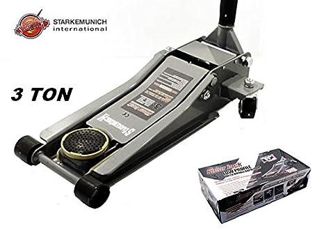 Cric Sollevatore Idraulico A Carrello Ribassato Professionale 3 Ton