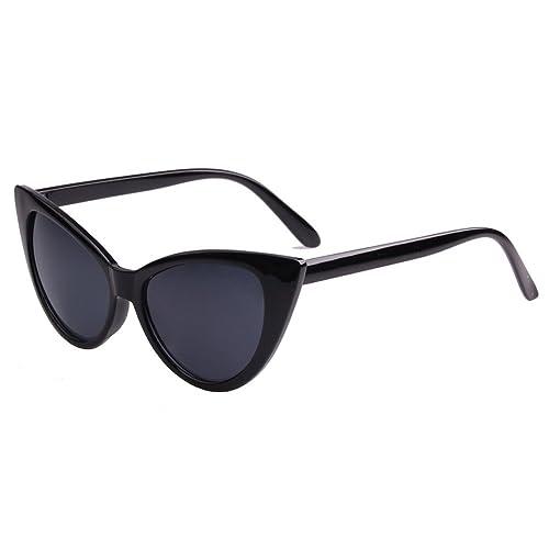 hibote Classico gatto occhiali da sole occhi DonnaRetro Eyewear UV400