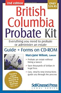 Probate kit for british columbia everything you need to probate an probate kit for british columbia everything you need to probate an estate solutioingenieria Gallery