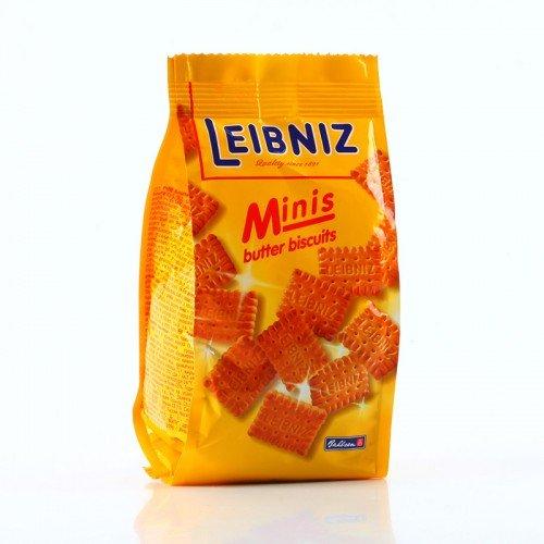 Bahlsen Butter (Bahlsen, Leibniz, Mini Butter Biscuits, net weight 100 g (Pack of 2 pieces) / Beststore by KK8)