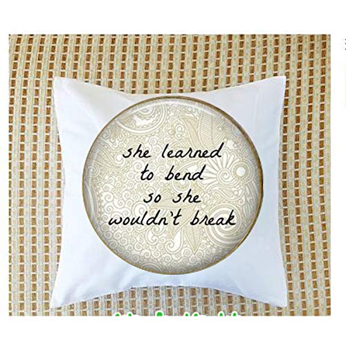 - Supportive Bout Women Quote - Life Crisis Support Pillow bolster ,Bible Quote Pillow bolster - Christian Insect Art Pillow bolster,Keychain,Pillow bolster Customized Gift,Everyday Gift Pillow bolster