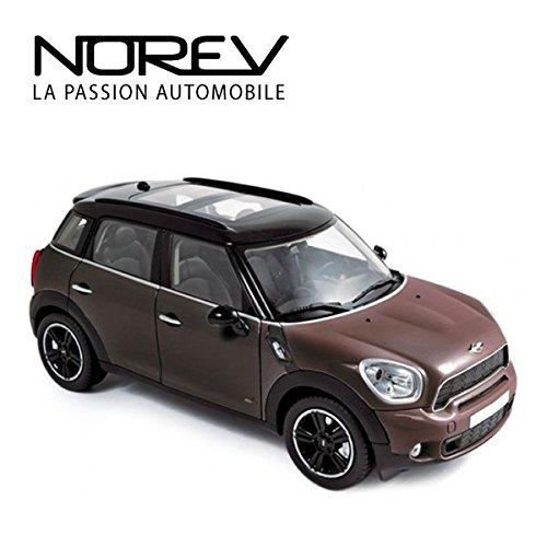 Norevノレブ 1/18 2010 Mini Cooper S Countryman(Brown)/ミニ クーパー/ミニカー/スケールモデルの商品画像