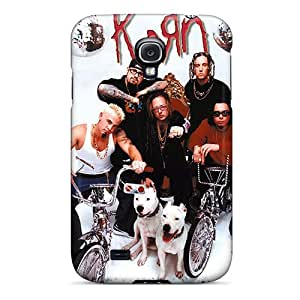 Scratch Resistant Hard Cell-phone Case For Samsung Galaxy S4 (QFV17996Laud) Provide Private Custom High-definition Korn Pictures