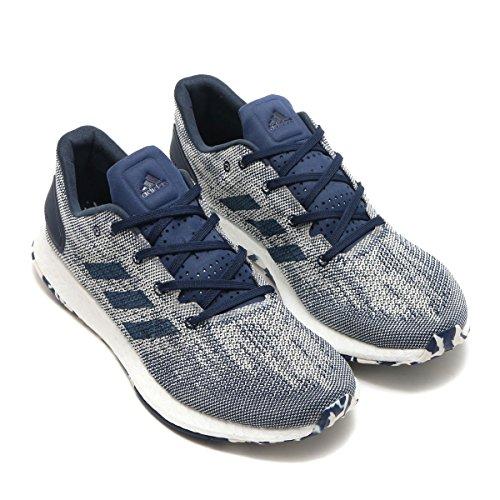 Adidas Performance Mens Pureboost Dpr Scarpa Da Corsa Dark Indigo / Dark Indigo / Chalk White