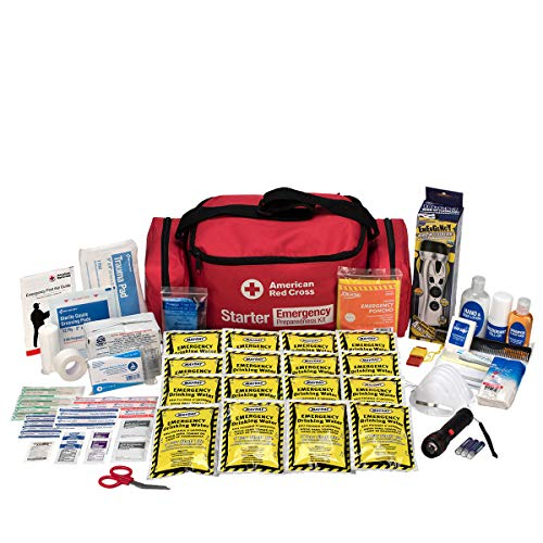 First Aid Only 91050 American Red Cross Emergency Starter 1 Day Duffle Kit