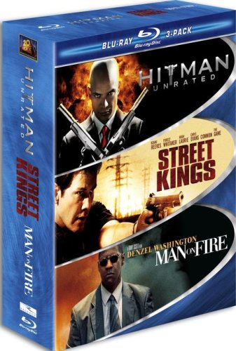 Blu-ray : Hard Action 3 Pack Blu-ray (Widescreen, 3 Disc)