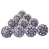 Ceramic Drawer Knobs Door Cabinet Knobs Drawer Pullar For Cupboard Kitchen