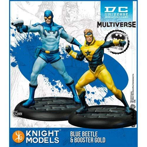 Knight Models Batman/DC Universe Miniatures Game: Blue Beetle & Booster Gold (MV)