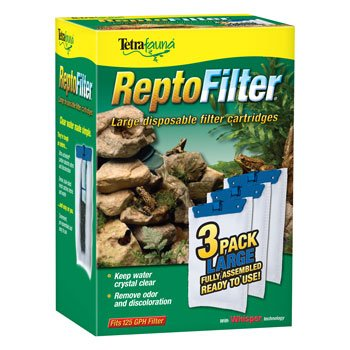 Tetra ReptoFilter Filter Cartridges from United Pet Group, Inc.