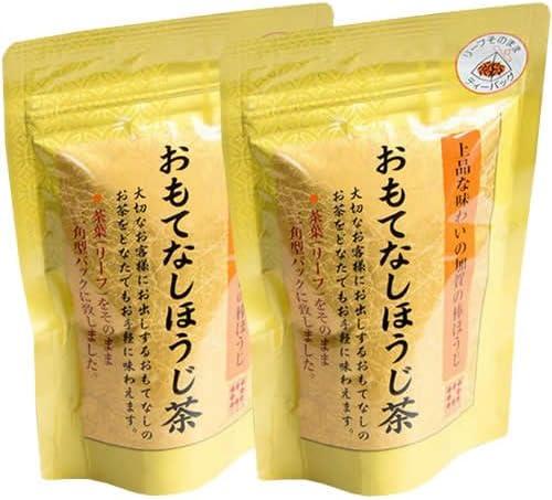 いさし園 おもてなしほうじ茶ティーバック(3gx8p) 24g×2袋