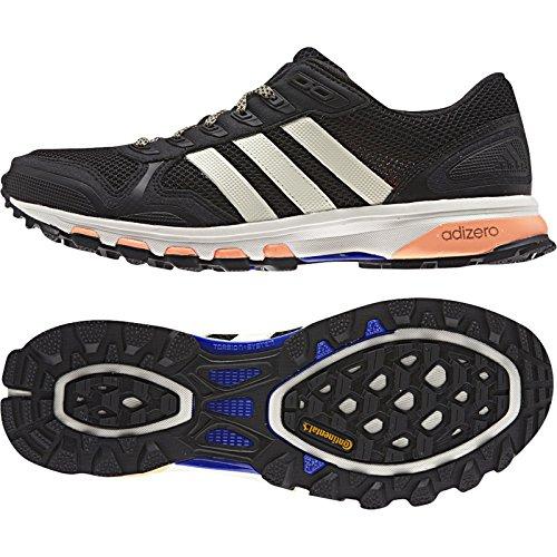 Adidas Udendørs Kvinders Adizero Xt 5 W Kører Sneakers Sort / Kridt Hvid / Flash Appelsin xzcqB