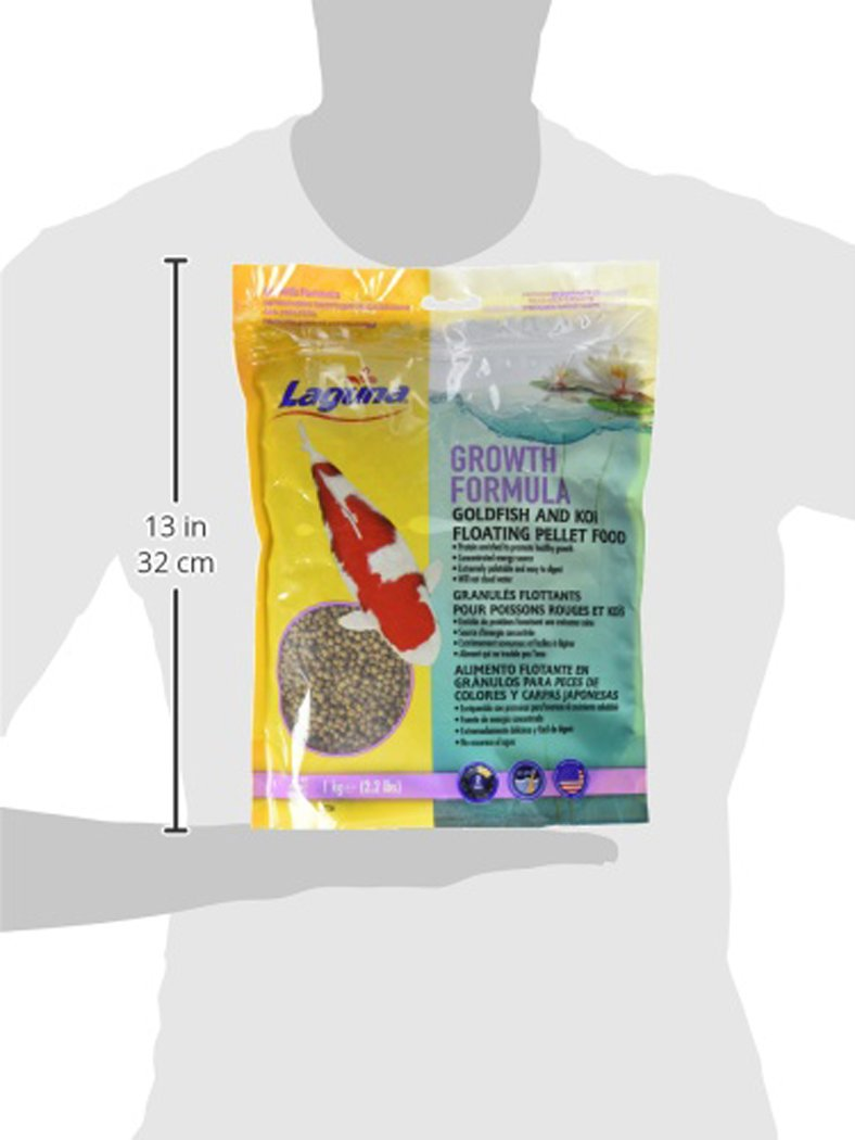 Amazon.com : Laguna Growth Enhancing Goldfish & Koi Floating Food, 9.9 lb : Pet Supplies
