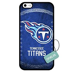 (TCustomized NFL Tennessee Titans Team Logo Design PC Case For HTC One M7 Cover Case CovBlack 01