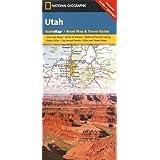 Utah (National Geographic Guide Map)