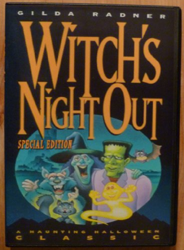Witch's Night Out DVD [IMPORT] Gilda Radner 1978 Halloween film -
