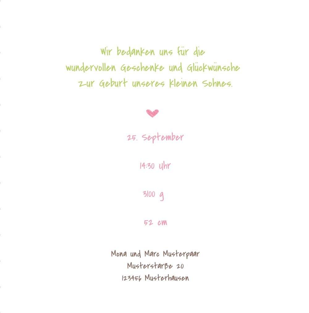 Kartenparadies Danksagung für für für Geburt Baby Dankeskarte Herzrahmen, hochwertige Danksagungskarte Baby inklusive Umschläge   100 Karten - (Format  145x145 mm) Farbe  MattBlau B01N7XZ9S3 | Feinbearbeitung  | Verpackungsvielfalt  | Die Königin Der  08a3a5