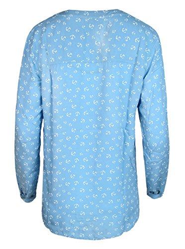 Zwillingsherz - Camisa deportiva - para mujer Azul