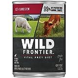 Wild Frontier Vital Prey Wet Dog Food Beef & Lamb Stew, (12) 12.5