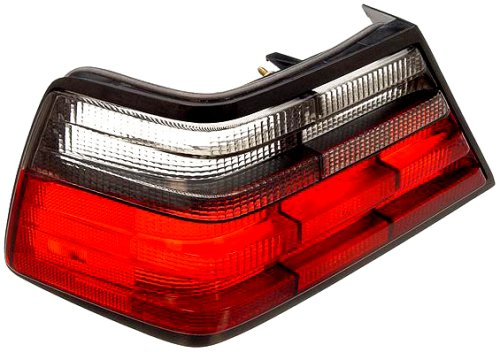 iver Side Replacement Tail Light Lens (Ulo Mercedes Benz Driver)