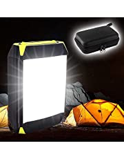 VOOPH LED Camping Lantern, Portable Camping Lights 6000Mah Battery IP65 70Hours Rechargeable Tent Light for Home Garden Outdoor Hiking Fishing Emergency Power Bank Outdoor Fishing Light