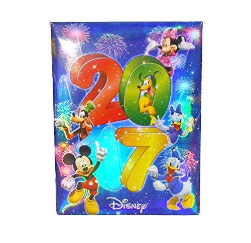 Disney Exclusive 2017 Mickey & Gang Photo Album Holds 100 Photo Size Up To 4