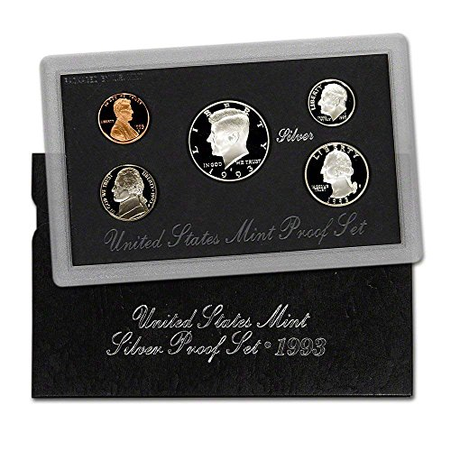 1993 S US Mint Silver Proof Set Gem Proof DCAM