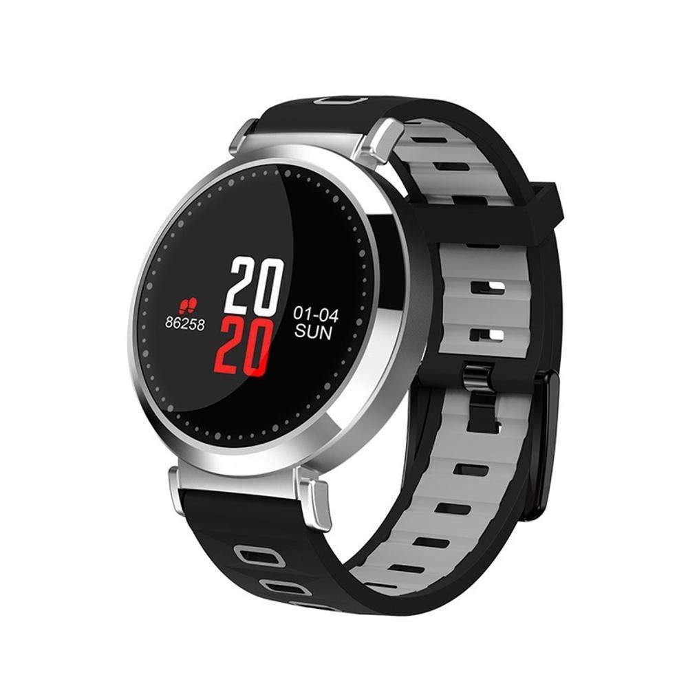 Ambiguity Fitness-Armband,Smart Armband IP67 wasserdicht Ebene Schrittzähler Herzfrequenz Blut Sauerstoff Gesundheitsüberwachung Übung Armband
