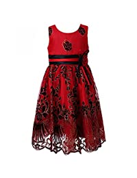 Richie House Girls' Sweet Party Multi-layered Dress Size 2-12 Rh2142