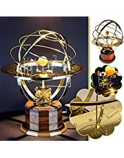 Grand Orrery Model of The Solar System-Tower Orrery 3D Model from Science Art-Retro Mechanical Solar System Model Decoration-Retro Mechanical Solar System Model Decoration-Home Bedroom Decoration