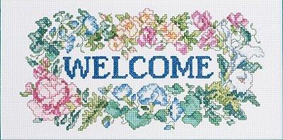 Janlynn Welcome Bouquet Cntd X-Stitch Kit (Cross Stitch Cntd Kit)