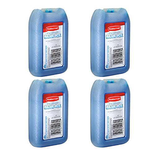 "Rubbermaid - 1026-TL-220 ""BLUE ICE"" MINI PAK, Reusable, 8 OZ"