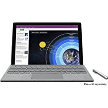 Microsoft Surface Pro 4 (128 GB, 4 GB RAM, Intel Core M) Bundle with Backlit Keyboard - Silver(US Version, Imported)