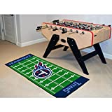 "Fanmats Home Indoor sports Team Logo Tennessee Titans Runner Mat 30""x72"""