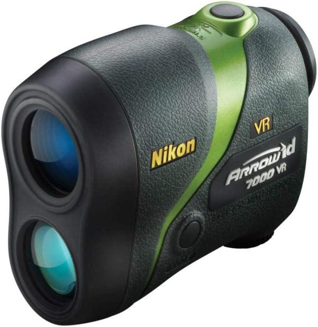 Nikon Arrow ID 7000 VR Bowhunting Laser Rangefinder, Green – 16211