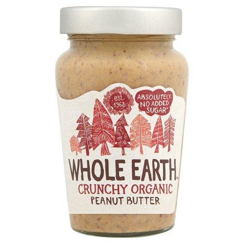 Whole Earth Organic Crunchy Peanut Butter No Added Sugar  340G