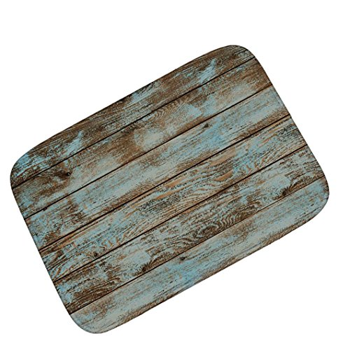 Sale Patio Mats (Sothread 40x60cm Retro Striped Doormat Non-slip Rectangle Carpet Mats Bath Decor Area Rug (A))