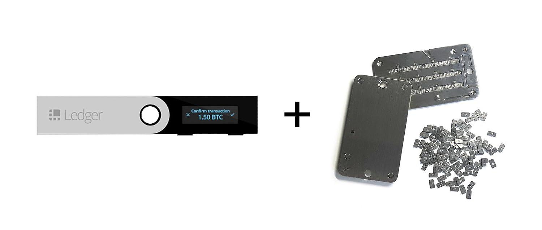 Ledger Nano S + SteelWallet Copia de Seguridad ...