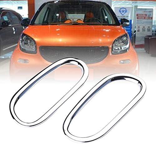 Moligh doll 2 St/üCke Auto Blinker Lampe Dekoration Abdeckung Auto Styling Zubeh?R Au?En Verkleidung Schutz f/ür Mercedes Smart Fortwo 453