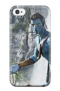 2328884K83550888 Snap On Case Cover Skin For Iphone 4/4s(jake Sully In Avatar Movie)