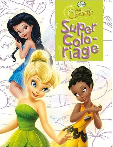 Coloriage Fee Pdf.Telecharger Le Livre Sur Kindle La Fee Clochette Super Coloriage