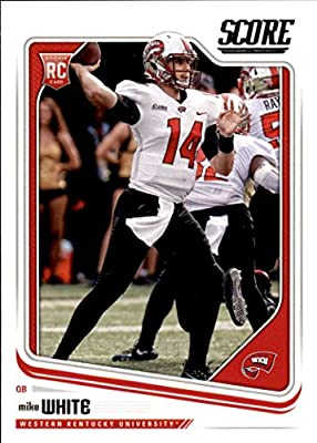 2018 Score Football #357 Mike White RC Western Kentucky